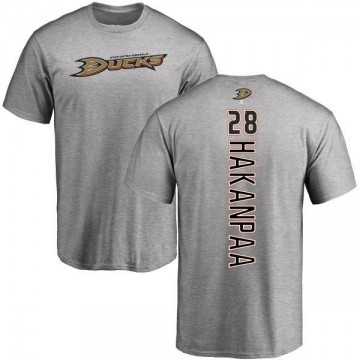 Men's Jani Hakanpaa Anaheim Ducks Backer T-Shirt - Ash