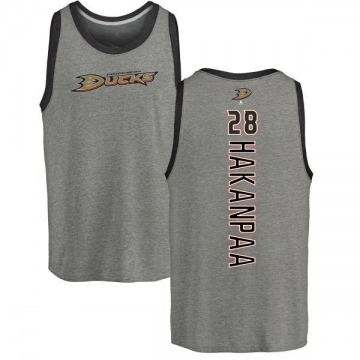Youth Jani Hakanpaa Anaheim Ducks Backer Tri-Blend Tank Top - Ash